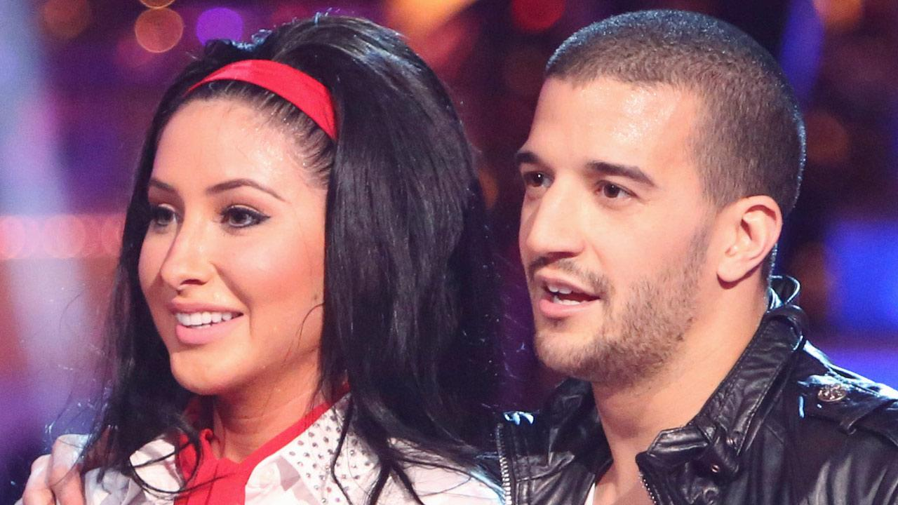 Bristol Palin and Mark Ballas appear on Dancing With The Stars: All Stars on Monday, Oct. 15, 2012.