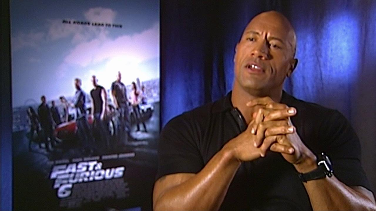 Dwayne The Rock Johnson talks about his experience on Fast & Furious 6.