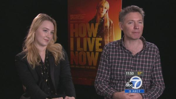 'How I Live Now' star, director talk about film