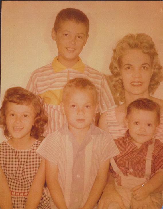 "<div class=""meta ""><span class=""caption-text "">George Pennacchio says, 'Here's Mom with four of her five kids (one was still to come).  I'm the wide-eyed one in the corner right. She always sacrificed for us, so now it's nice to spoil her whenever we can. Trust me, she's earned it!.' (George Pennacchio)</span></div>"