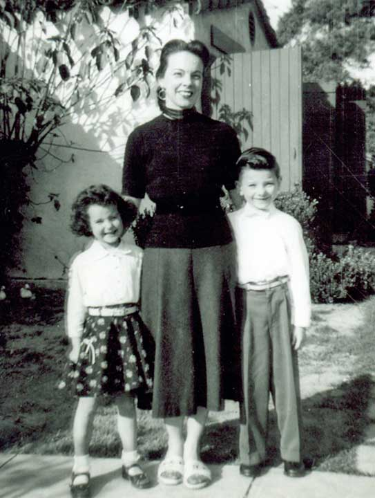 "<div class=""meta ""><span class=""caption-text "">Ric Romero says, 'My mom's name is Betty, but her nickname is Rusty because of her red hair. The photo is with my sister Terry taken in the Silverlake area of Los Angeles area outside our apartment, probably on Easter Sunday. Although my mom looks tall in the photo, she is only 5'1'. Her claim to fame is she was a bareback rider in the circus and even rode with Roy Roger's Wild West show.' (Ric Romero)</span></div>"