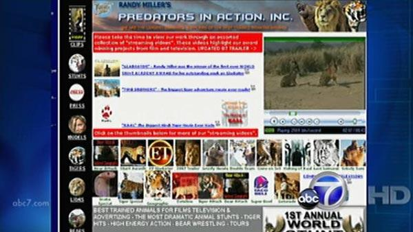 Web site for Predators in Action, Inc.