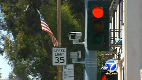 Audit: L.A.'s red-light cams are ineffective