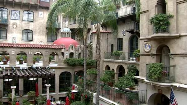 The Mission Inn Hotel & Spa is a national historic landmark originally owned by Frank Miller.