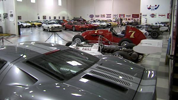 The Riverside International Automotive Museum is dedicated primarily to the Riverside International Raceway.