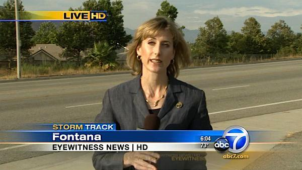 ABC7 reporter struck by BB gun fire in Fontana
