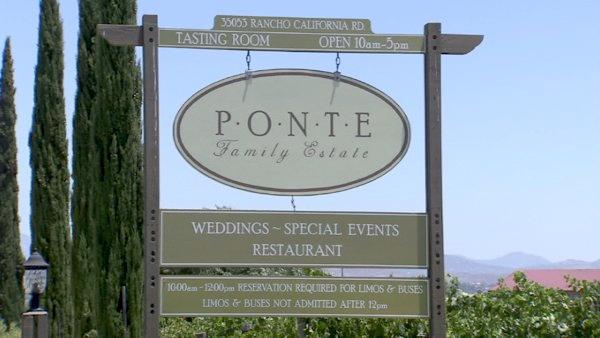 The Ponte Winery has free live music every Friday and Saturday from 6 p.m. to 9 p.m. Enjoy the sounds while having a glass of wine or dining in their outdoor restaurant.