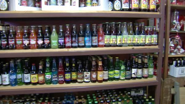 For another sweet treat, head next door to Old Town Root Beer Company which features 100 types of root beers -- three of them made by the store -- and 300 types of sodas, some from around the world.