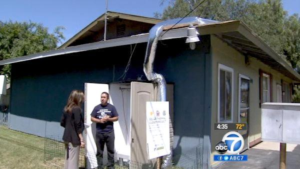 UCR students build innovative clothes dryer