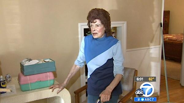 Woman, 95, tied up during IE home invasion
