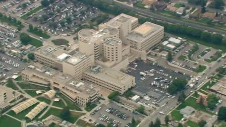 An aerial view of Loma Linda Medical Center is seen on Thursday, May 3, 2012.