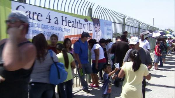 IE health fair comes at right time for residents
