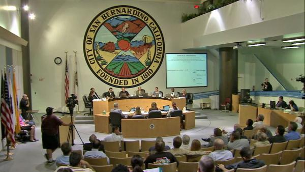 San Bernardino votes to go with bankruptcy