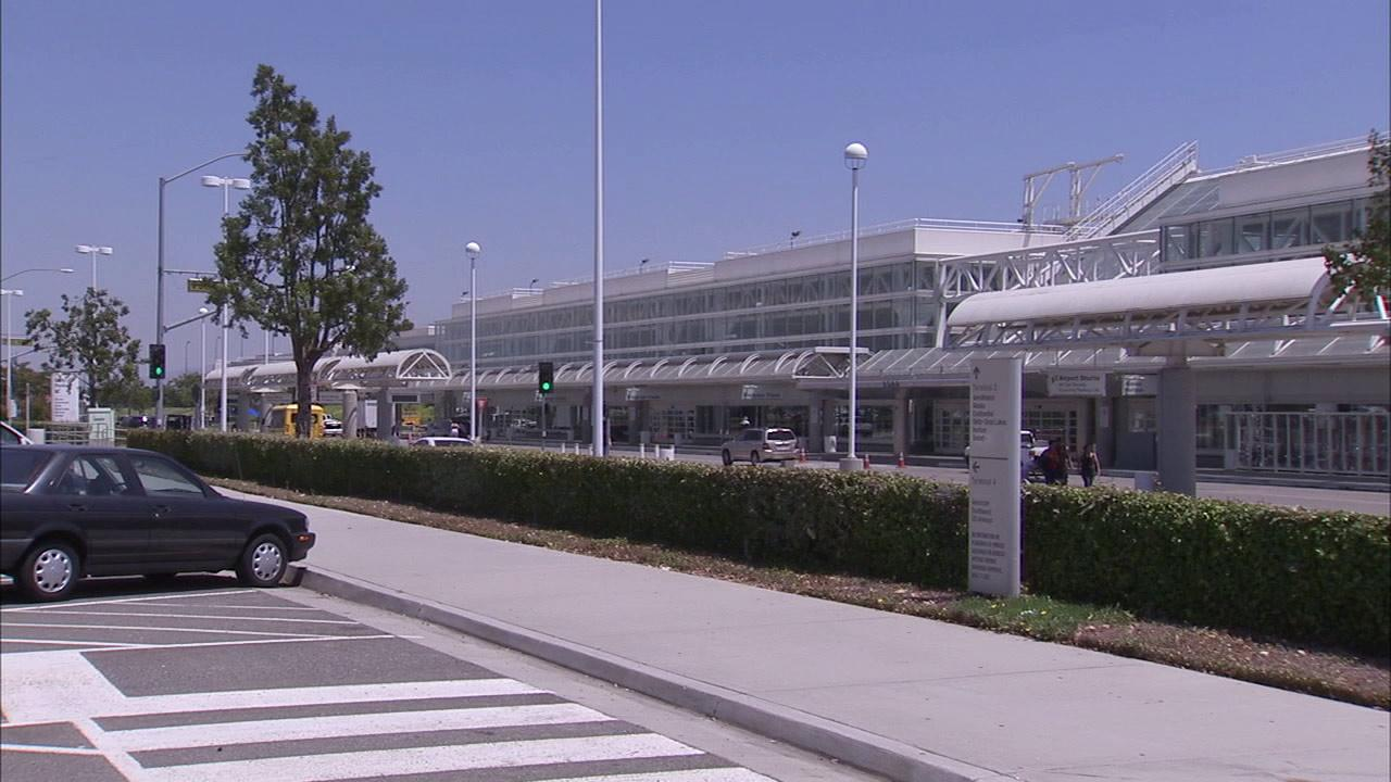The exterior of Ontario Airport is seen in this undated file photo.