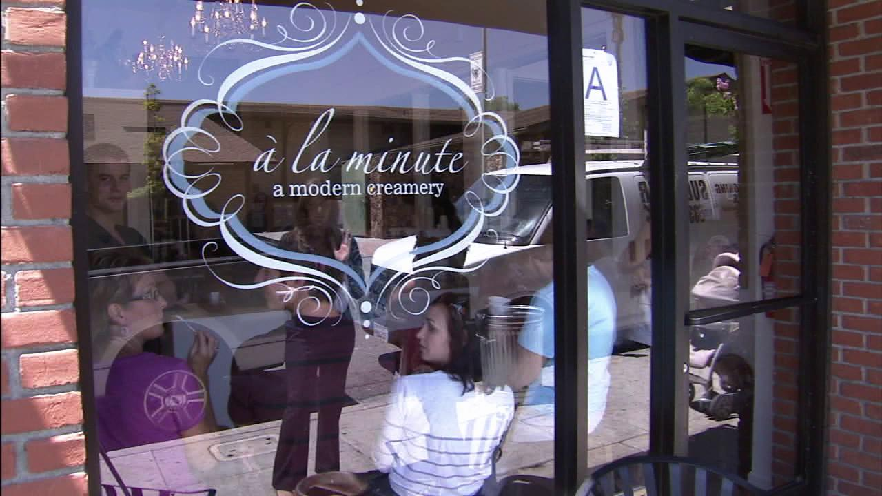 A La Minute is a French culinary term that means made to order. Owner Cassi Burk and her husband recently opened the shop, which has fast become a local favorite.