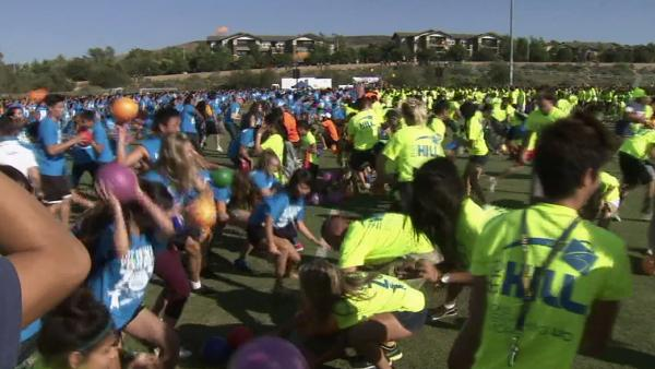 UC Irvine shatters world dodge ball record