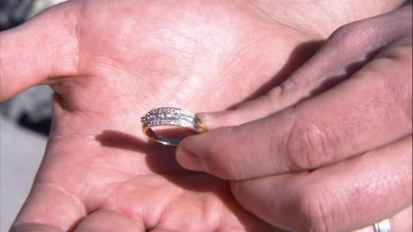 Diamond ring found among Spark of Love toys