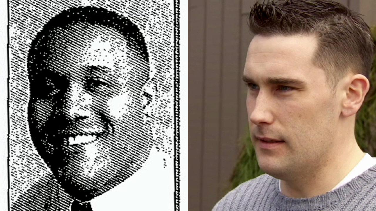 (Right) Christopher Dorners former college friend James Usera is shown in a February 2013 file photo. (Left) Dorner, who played on the football team for Southern Utah University, is shown on the players roster.