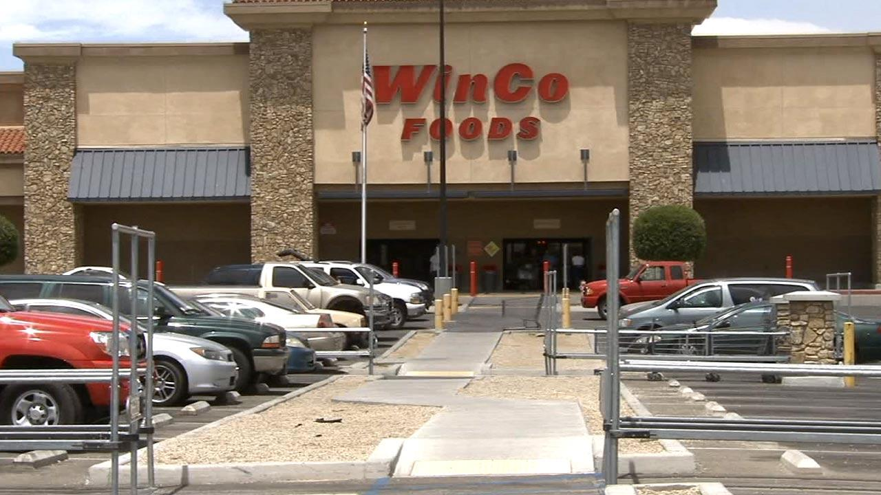 The WinCo Foods supermarket at 15350 Roy Rogers Dr., Victorville, on Tuesday, May 28, 2013.