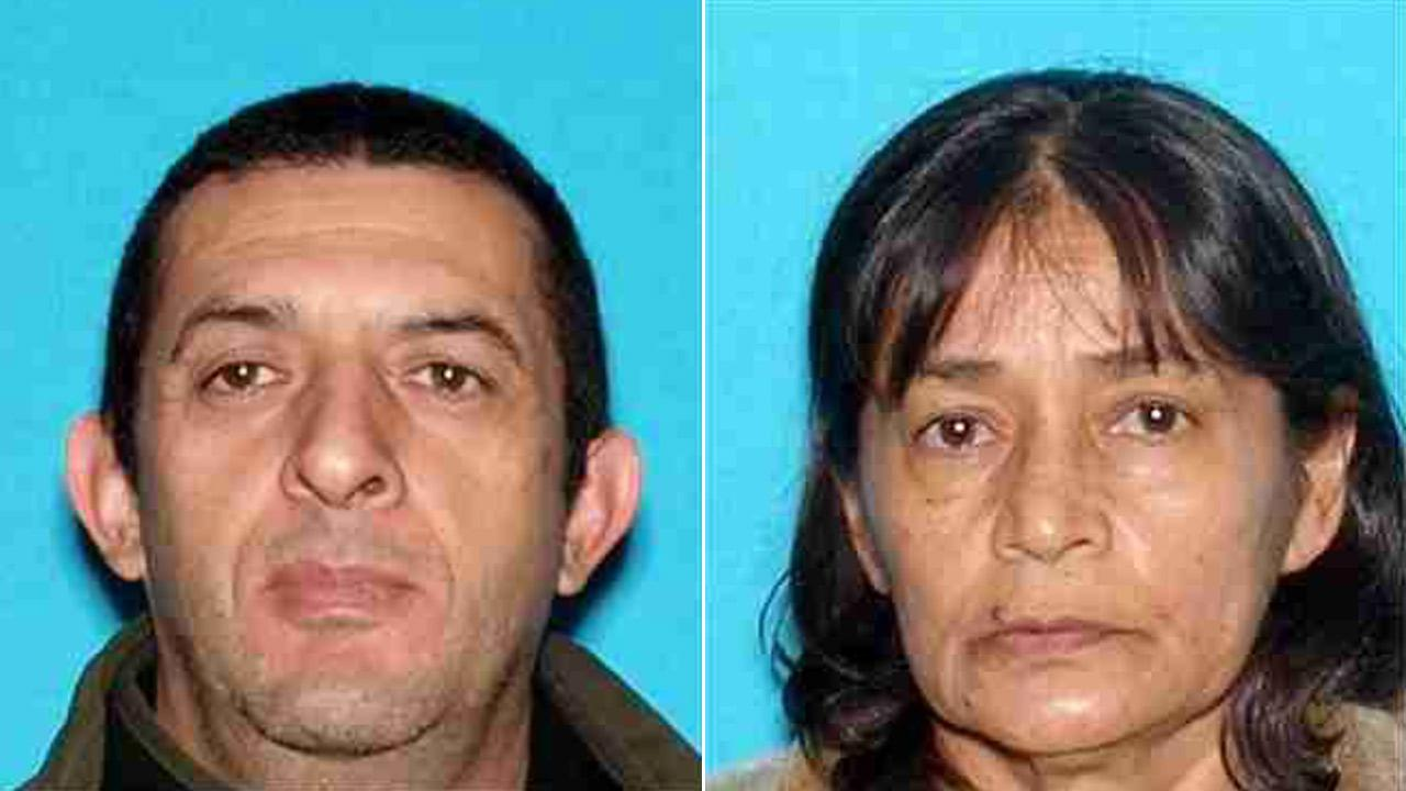 Jorge Palomo (Left) was arrested on Thursday, Aug. 15, 2013, for attacking his family. His 61-year-old sister-in-law, Ana Maria Ramirez (Right), died in the attack.