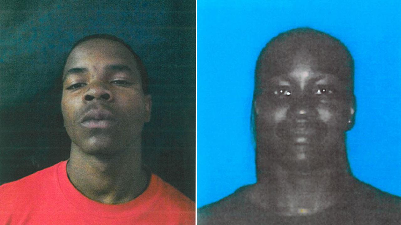 Dantjier Powell (L)  and Jamie Nicole Cotton (R) are being sought in connection to the murder of a transgender woman in Fontana.