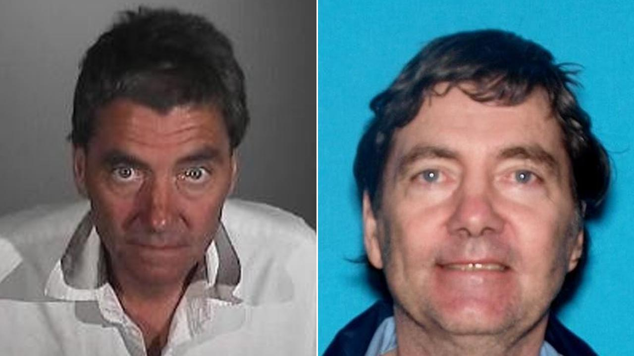 Dennis Michael McKenzie, 55, is seen in these photos provided by the San Bernardino County Sheriffs Department.
