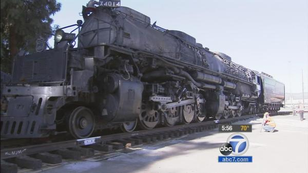 Big Boy locomotive headed back to Wyoming
