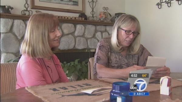 Pen pals meet for first time after 50 years