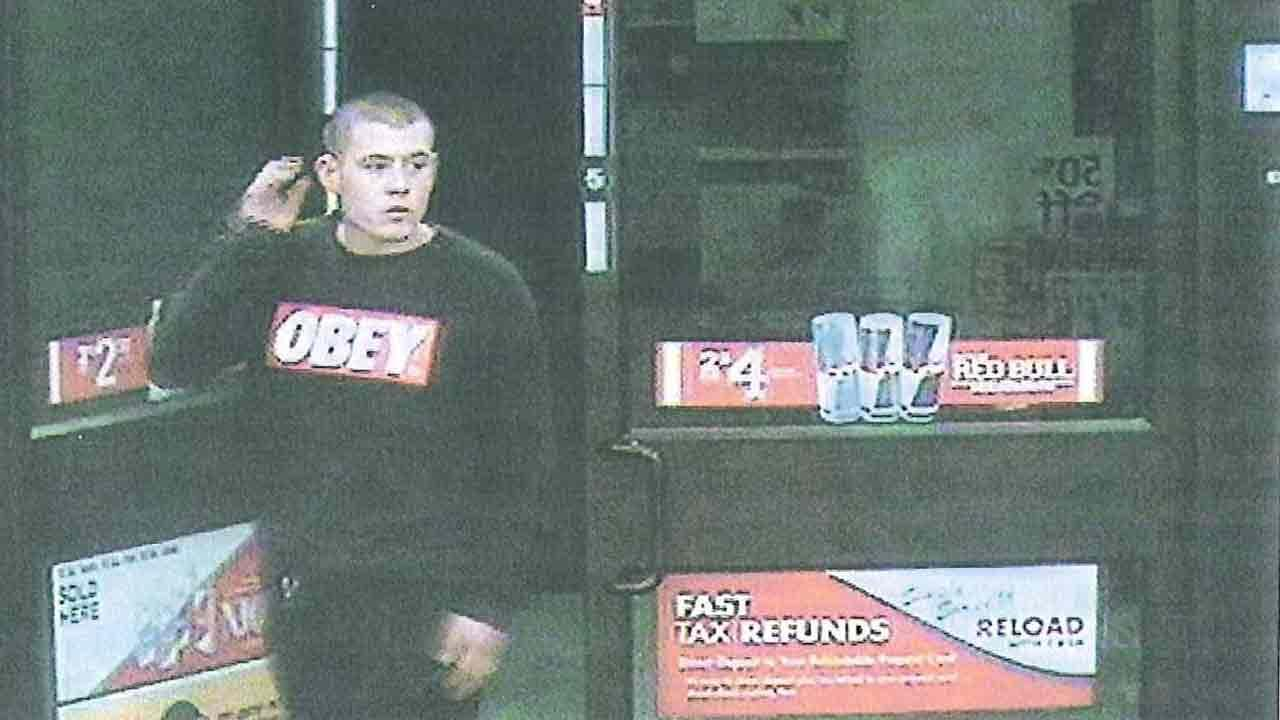 The Chino Police Department released a surveillance image of a man wanted in connection to a robbery at a 7-Eleven store on the 12000 block of Mountain Avenue Friday, Jan. 24, 2014.