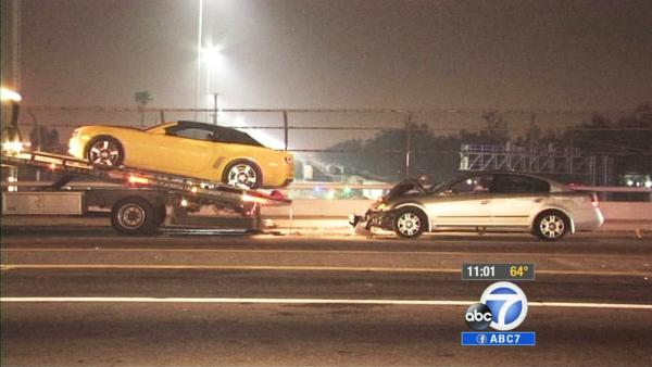 Tow truck driver struck by hit-run driver