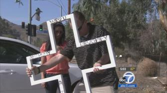 A cross that serves as a memorial for a man in Lake Elsinore has been removed following an atheist groups complaints.