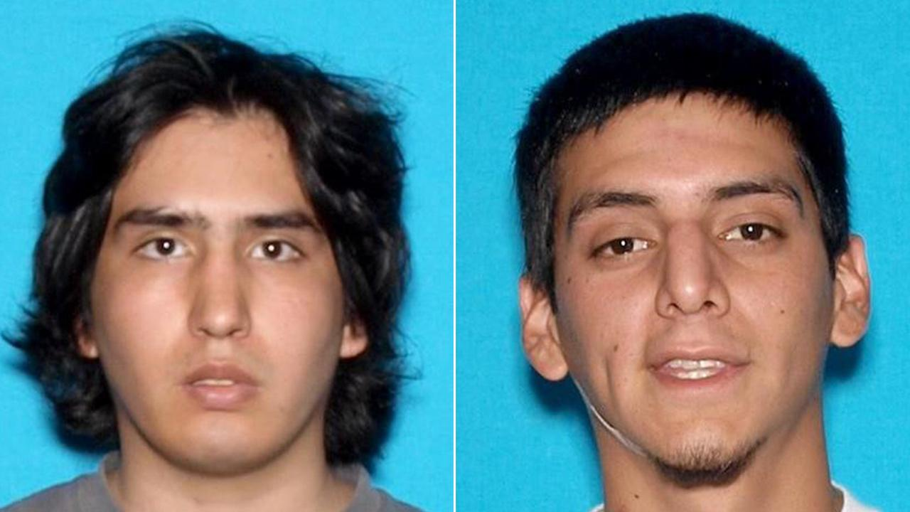 Victim Anthony Fuentes, left, and suspect Manuel Barrios, right, are shown in these undated photos from the DMV.