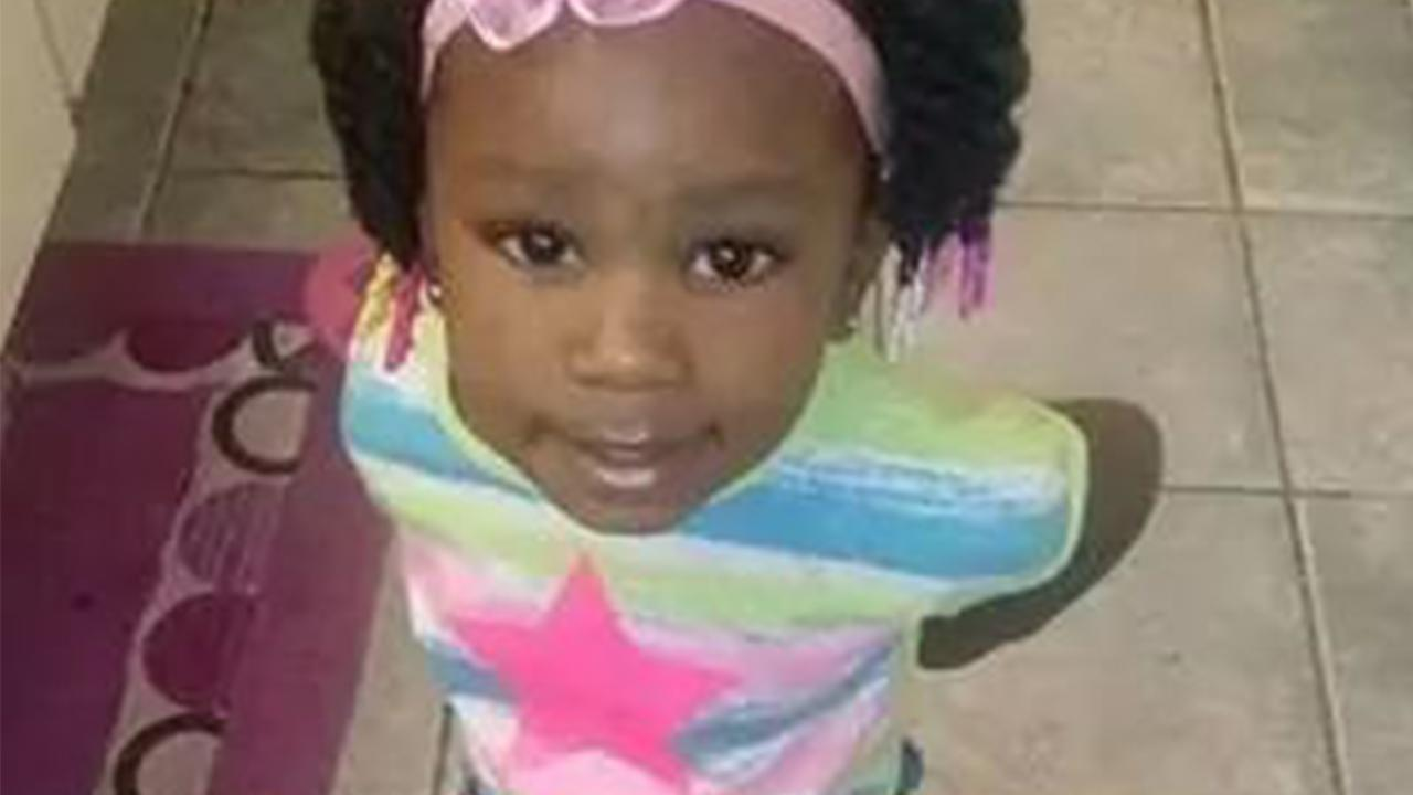 Asianae Thomas, 2, is shown in this photo.