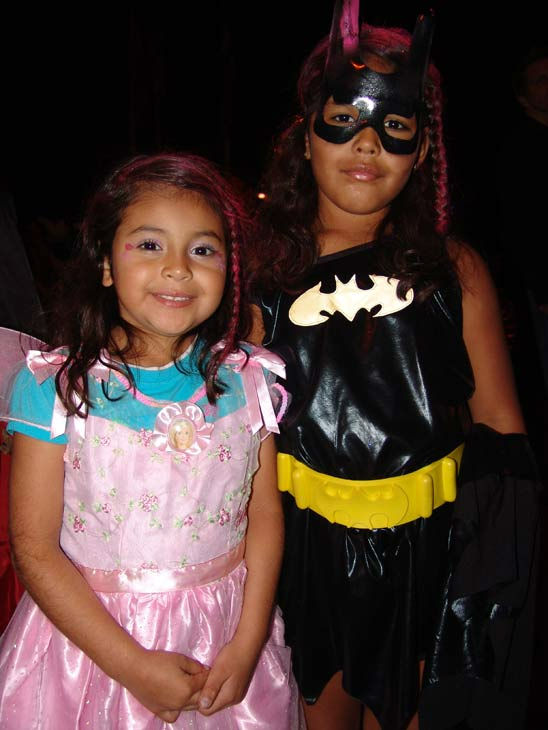 Shaya Aguilar,7, and Giselle Aguilar, 5, from Compton attended the West Hollywood Halloween Costume Carnaval on Oct. 31, 2011. This year&#39;s theme was &#39;Become Your Other.&#39; <span class=meta>(KABC Photo&#47; Vicki Gonzalez)</span>