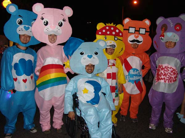 Care Bears characters attended the West Hollywood Halloween Costume Carnaval on Oct. 31, 2011. This year&#39;s theme was &#39;Become Your Other.&#39; <span class=meta>(KABC Photo&#47; Vicki Gonzalez)</span>