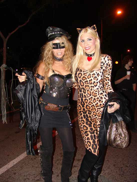 "<div class=""meta image-caption""><div class=""origin-logo origin-image ""><span></span></div><span class=""caption-text"">Danielle Kurtich and Sharon Tydell attended the West Hollywood Halloween Costume Carnaval on Oct. 31, 2011. This year's theme was 'Become Your Other.' (KABC Photo/ Vicki Gonzalez)</span></div>"