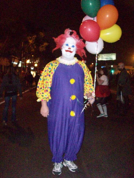 Lucas, visiting from Texas, attended the West Hollywood Halloween Costume Carnaval on Oct. 31, 2011. This year&#39;s theme was &#39;Become Your Other.&#39; <span class=meta>(KABC Photo)</span>