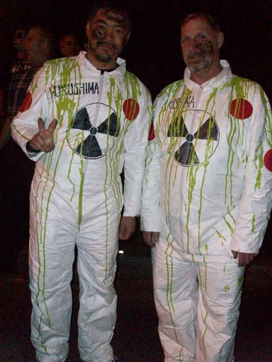 Chris Kelly and Eric Wu from Redondo Beach attended the West Hollywood Halloween Costume Carnaval on Oct. 31, 2011. This year&#39;s theme was &#39;Become Your Other.&#39; <span class=meta>(KABC Photo&#47; Vicki Gonzalez)</span>