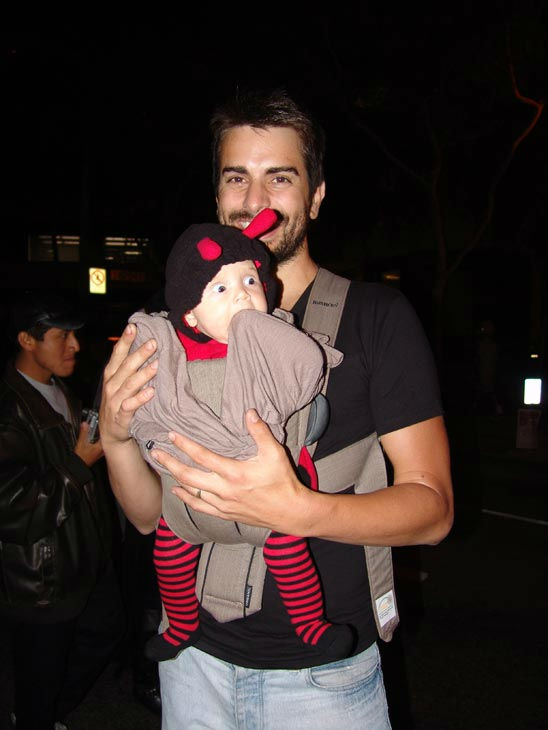 Savannah and Christopher from Santa Monica attended the West Hollywood Halloween Costume Carnaval on Oct. 31, 2011. This year&#39;s theme was &#39;Become Your Other.&#39; <span class=meta>(KABC Photo&#47; Vicki Gonzalez)</span>