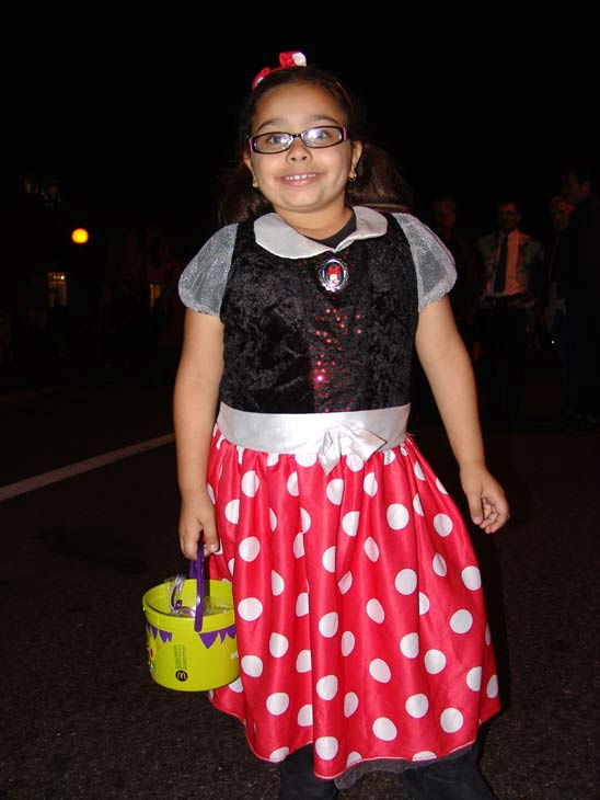 Michaela, 6, from L.A. attended the West Hollywood Halloween Costume Carnaval on Oct. 31, 2011. This year&#39;s theme was &#39;Become Your Other.&#39; <span class=meta>(KABC Photo&#47; Vicki Gonzalez)</span>