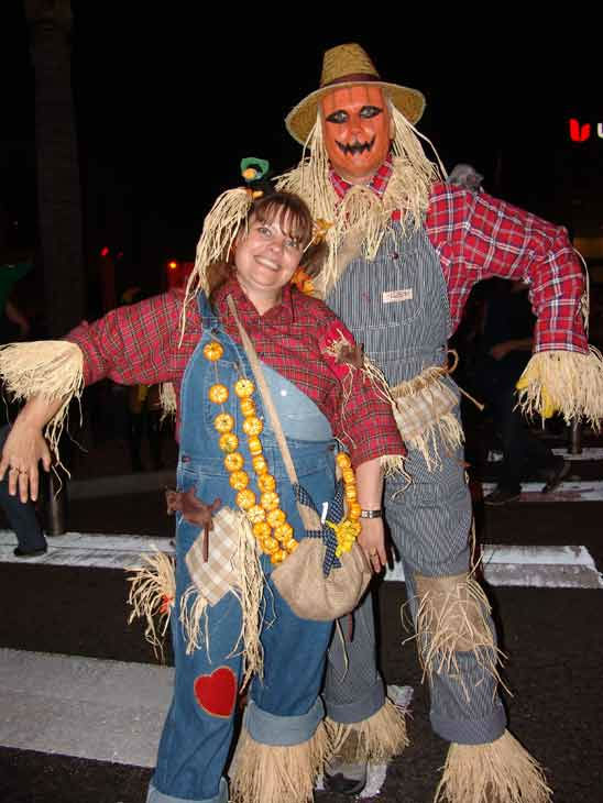 Marc and Wiebke from Germany attended the West Hollywood Halloween Costume Carnaval on Oct. 31, 2011. This year&#39;s theme was &#39;Become Your Other.&#39; <span class=meta>(KABC Photo&#47; Vicki Gonzalez)</span>