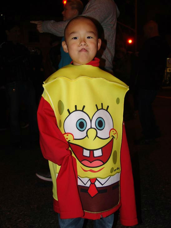 Kent, 5, from Pasadena attended the West Hollywood Halloween Costume Carnaval on Oct. 31, 2011. This year&#39;s theme was &#39;Become Your Other.&#39; <span class=meta>(KABC Photo&#47; Vicki Gonzalez)</span>