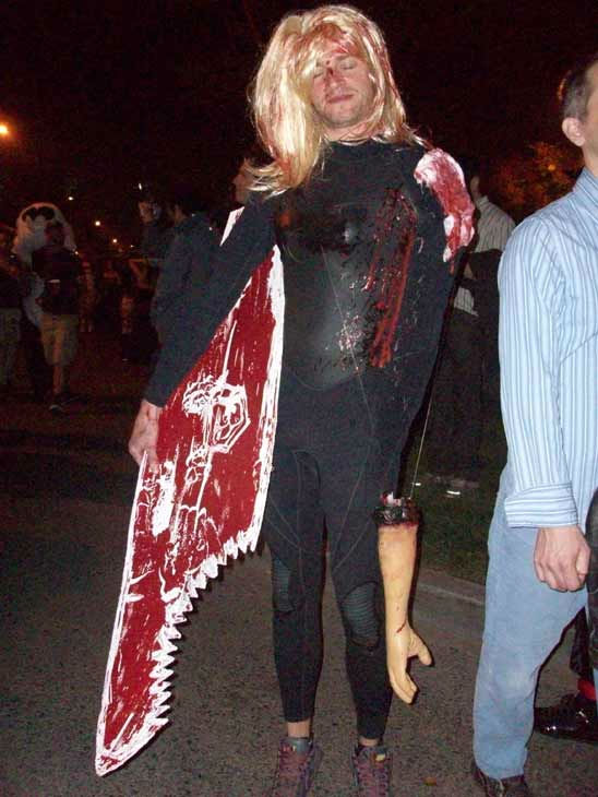 Danny Henderson from Topanga attended the West Hollywood Halloween Costume Carnaval on Oct. 31, 2011. This year&#39;s theme was &#39;Become Your Other.&#39; <span class=meta>(KABC Photo&#47; Vicki Gonzalez)</span>
