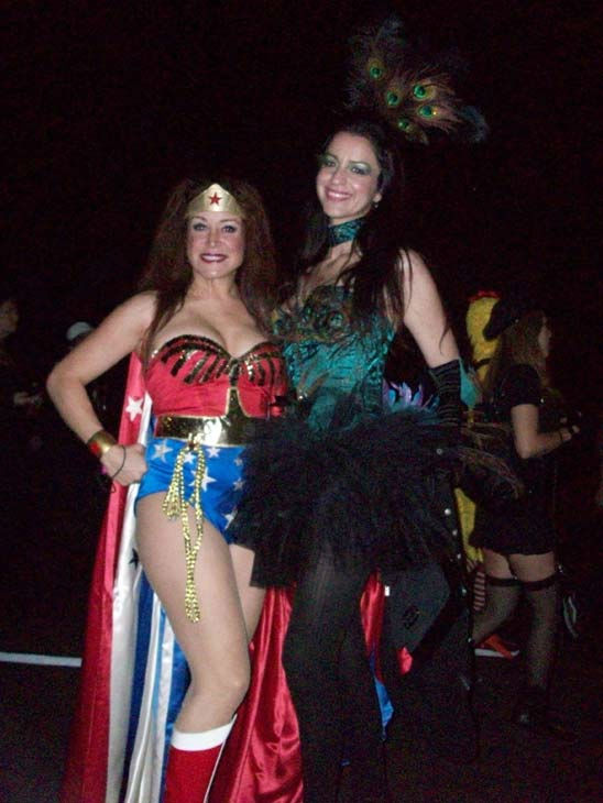 Vivian and Suzy from L.A. attended the West Hollywood Halloween Costume Carnaval on Oct. 31, 2011. This year&#39;s theme was &#39;Become Your Other.&#39; <span class=meta>(KABC Photo&#47; Vicki Gonzalez)</span>
