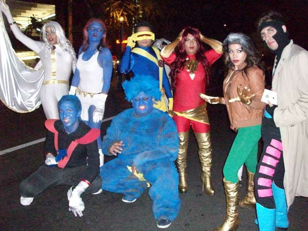 Thousands turned out to the West Hollywood Halloween Costume Carnaval on Oct. 31, 2011. This year&#39;s theme was &#39;Become Your Other.&#39; <span class=meta>(KABC Photo&#47; Vicki Gonzalez)</span>