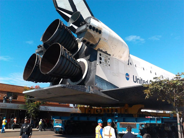 ABC7 viewer Savieti Vuna posted this photo on our Facebook page of space shuttle Endeavour on Saturday, Oct. 13, 2012. &#160;Send us your shuttle pictures and video to video@abc7.com or post them to the ABC7 Facebook page. You can also Tweet us @abc7 with #SpotTheShuttle. <span class=meta>(ABC7 viewer Savieti Vuna)</span>
