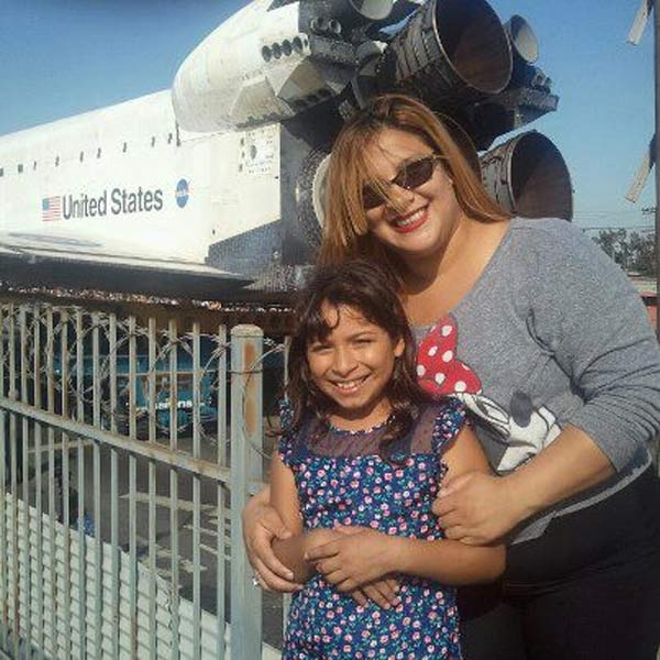 ABC7 viewer Topasio Ruiz posted this photo of space shuttle Endeavour on Sunday, Oct. 14, 2012. &#160;Send us your shuttle pictures and video to video@abc7.com or post them to the ABC7 Facebook page. You can also Tweet us @abc7 with #SpotTheShuttle. <span class=meta>(ABC7 viewer Topasio Ruiz)</span>