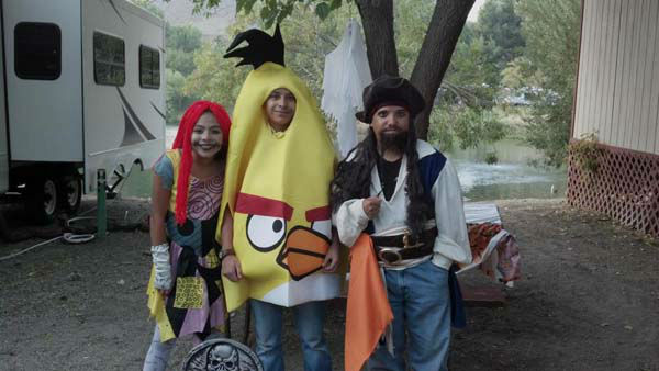 ABC7 viewer Carol Guerrero sent us this photo of Sally, Chuck the angry bird, and Jack Sparrow.&#160;Post your Halloween pictures on our ABC7 Facebook page. <span class=meta>(KABC Photo&#47; ABC7 viewer Carol Guerrero)</span>