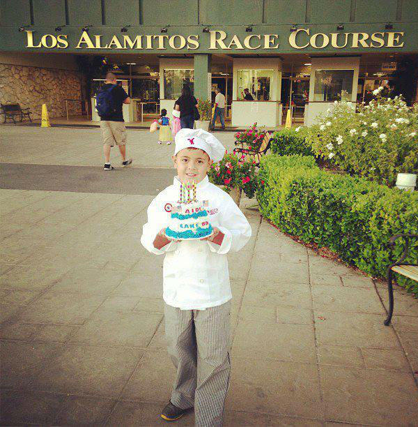 ABC7 viewer Rachel Duran sent us this photo of her little cake boss Aiden Duran.&#160;Post your Halloween pictures on our ABC7 Facebook page. <span class=meta>(KABC Photo&#47; ABC7 viewer Rachel Duran)</span>