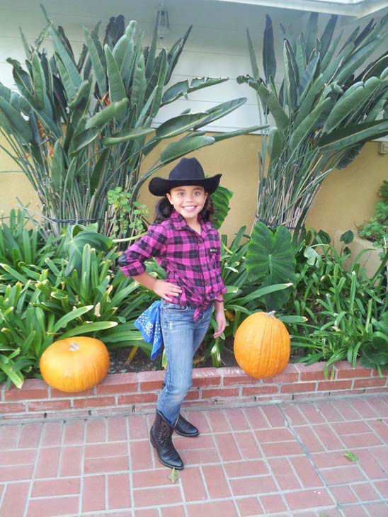 ABC7 viewer Erica Sandoval Urdanivia shared this photo with us of this cowgirl cutie.&#160;Post your Halloween pictures on our ABC7 Facebook page. <span class=meta>(KABC Photo&#47; ABC7 viewer Erica Sandoval Urdanivia)</span>